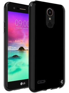 LG Stylo 3 Case, LK Ultra [Slim Thin] Scratch Resistant TPU Rubber Soft Skin Silicone Protective Case Cover for LG Stylo 3 (Black)