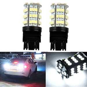 KATUR 2 x White 7440 1210 54-SMD 800 Lumens LED Turn Signal Light Bulb 12V Replacement for Car Incandescence Bulb Interior RV Camper Bulb Tail Brake Stop Parking Lights 5W