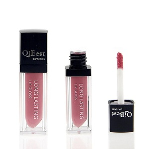Sagton® QiBest Matte liquid lipstick Waterproof Long Lasting lip gloss (Red 15)