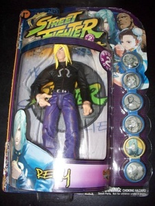 Street Fighter Round 2 Remy Action Figure by Street Fighter