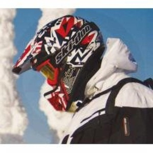 Ski-Doo New OEM XC-1 Choppy Helmet Small 4474430430