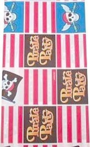 Pirate Party Tablecover by Skull and Crossbones Pirate Party