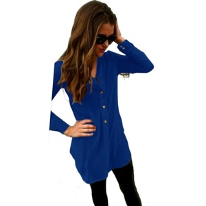 Women Tops , Misaky Loose Long Sleeve Casual Shirt Blouse (XL, Blue)