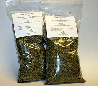 Dried Loose Moringa Leaves (8 Oz) by Paisley Farm and Crafts