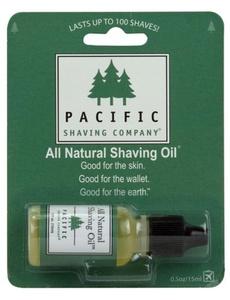 Pacific Shaving All Natural Shaving Oil -- 0.5 fl oz