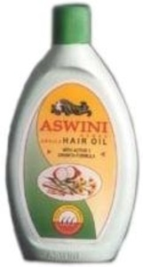 Aswini Hair Oil - Ideal cure for Hair Fall, Dandruff, Hair Split, Greying and Headaches, 200 ml (Pack of 2) by Aswini Hair Oil