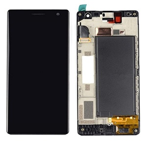 NEW Nokia Lumia 735 New Touch Digitizer +LCD Display Assembly W/Frame Parts