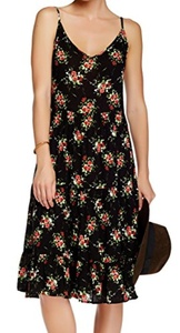 Lily White Women's Medium Floral Print Sheath Dress