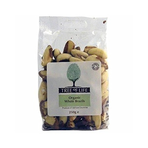 Tree of Life Organic Whole Brazil Nuts 250g