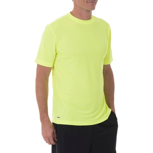Starter Men's Performance Moisture Wicking Athletic Core T-Shirt (XXXX-Large, Neon Yellow)