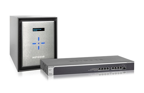 NETGEAR ReadyNAS 526X Network Attached Storage 6-Bay 6 x 3TB Desktop HD
