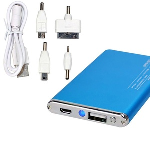 USB Portable External Backup Battery Charger Power Bank for iPhone 6S Blue