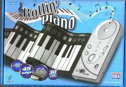 Electronic Keyboard Playmat by 61 Key Electronic Keyboard