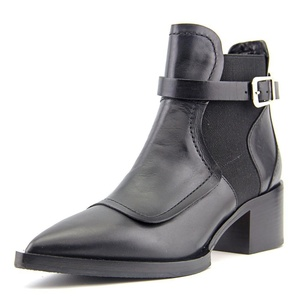 No.21 8367 Women US 5.5 Black Ankle Boot