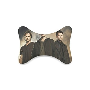 Supernatural Custom Travel Pillow Bone Shape Car Neck Pillow Car Seat Neck Rest Cushion Sofe And Healthy