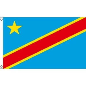 Congo Dr 2006 Flag 5Ft X 3Ft National Country Banner With 2 Eyelets New by Congo DR 2006