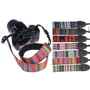 Camera Accessories Universal Durable Cotton+Nylon Camera Shoulder Neck Strap For SLR DSLR Nikon HOT