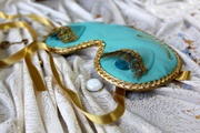 Breakfast at Tiffany's and Audrey Hepburn in role of Holly Golightly sleeping mask. Cute handmade sleep mask - Gift idea for her