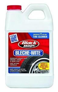 Black Magic 800002223 Bleche-Wite Tire Cleaner, 64 oz. by Black Magic