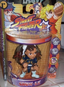 STREET FIGHTER JR. CHUN-LI ACTION FIGURE by Street Fighter by Street Fighter