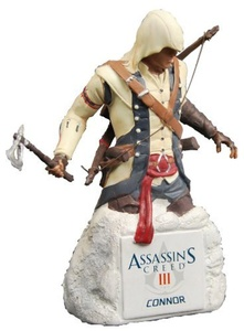 Assassins Creed III Connor Resin Collectible Bust by Assassins Creed III