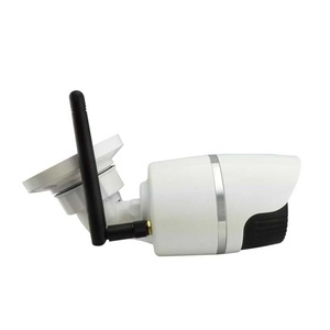 HD 720P Wireless WIFI IP Camera Outdoor Security Waterproof 36IR Night Vision (Silver)