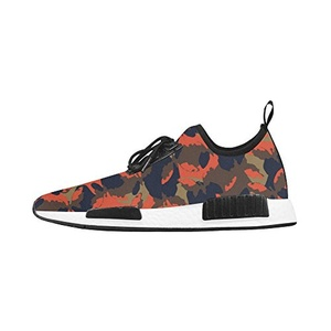 Cariben Camouflage Lightweight Women's Running Shoes Sports Shoes Sneakers,White