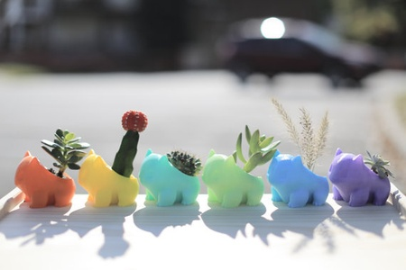 3D Printed Cartoon Pokemon Succulent  Accessories