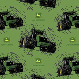 John Deere Big Time Tractor Fabric From Springs Creative By the Yard