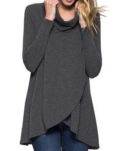 12 Ami Basic Turtleneck Long Sleeve Layered Pullover Sweater