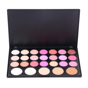 Pure Vie Professional 26 Colors Cream Blush Pressed Face Powder Makeup Palette Contouring Kit - Ideal for Professional as well as Personal Use