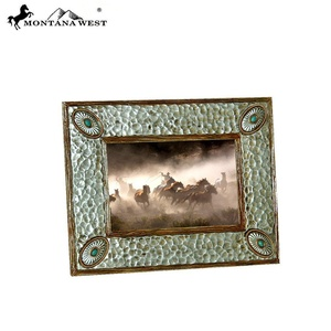 RSP-1970 Montana West Silver Western Resin Photo Frame
