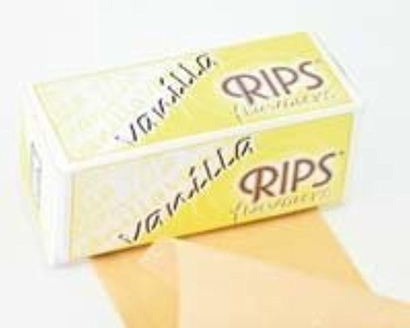 Vanilla Flavour Rips Cigarette Rolling Paper x 3 Packets (Free Post & Packing) by RIPS