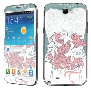 Samsung [Galaxy Note 2] Skin [NakedShield] Scratch Guard Vinyl Skin Decal [Full Body Edge] [Matching WallPaper] - [Wedding ] for Samsung Galaxy [Note 2]