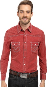 Rock and Roll Cowboy Men's Long Sleeve Snap B2S8428