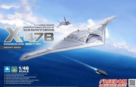 Freedom Model Kits 1/48 U.S NAVY UCAS X-47B FD-18001 by Freedom