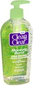 Clean & Clear Morning Burst Oil-Free Shine Control Facial Cleanser by Clean & Clear
