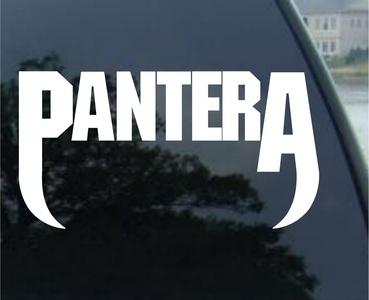 Pantera Vinyl Decal Stickers (12