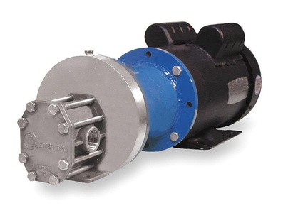 Oberdorfer Pumps - SM93516CWM6-X97 - Rotary Gear Pump, 110 psi, 316 Stainless Steel, 5 HP, 3 Phase