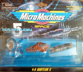 Micro Machines Babylon 5 Collection #6 by Galoob MicroMachines