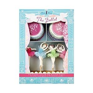 Meri Meri The Ballet Cupcake Kit - Pack of 2