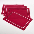Classic Pleated Design Placemat (Set of 4)