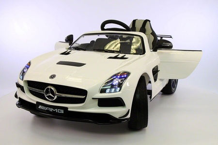 2017 12v Mercedes SLS 63AMG Battery Power Ride On Car LED Wheels MP4 Player with Remote Control