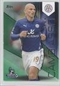 Esteban Cambiasso #42/60 (Trading Card) 2014 Topps Premier Gold Green #59