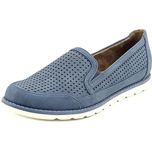 NaturalSoul by Naturalizer Ida Women Round Toe Synthetic Blue Flats