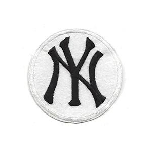 MLB - New York Yankees Round White Insignia Patch