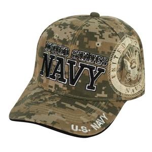 Navy Camo Hat