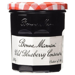 Bonne Maman Wild Blueberry Conserve 370g (Pack of 2)