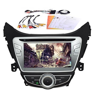 Android Quad Core 4.4 Built-in GPS Navigation bluetooth Car DVD Player support WIFI Mirror Link 8 Inch Car Stereo Special forHyundai ELANTRA£¨2012 2013£©