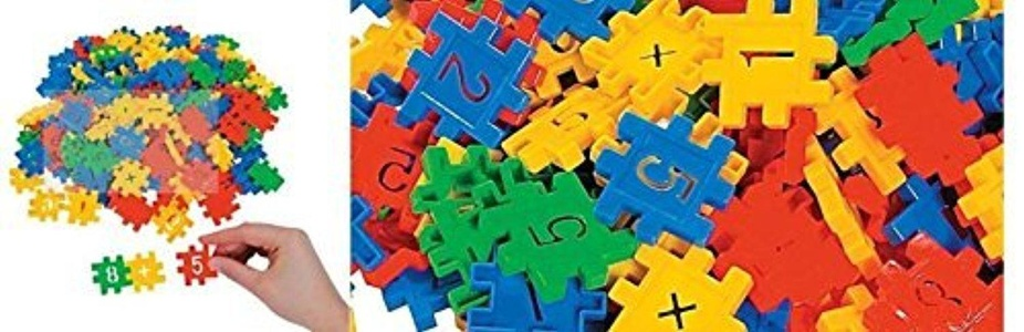 Fun Plastic Mathematic Connecting Blocks by fun